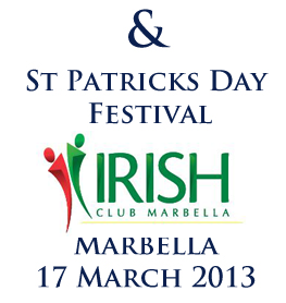St. Patricks Day Festival Marbella 2013